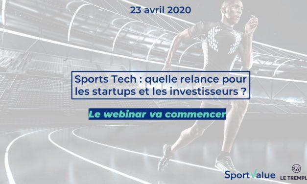 [Replay] Sportech : quelle relance pour les starups et les investisseurs ?