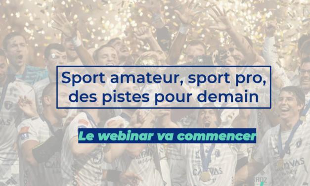 [Replay] Sport amateur, sport pro, des pistes pour demain
