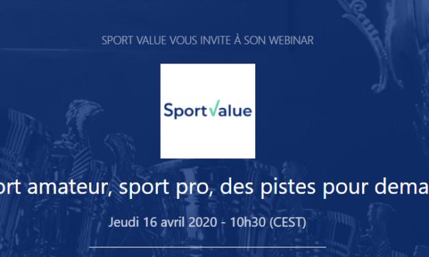 [Webinar] Sport amateur, sport pro, des pistes pour demain