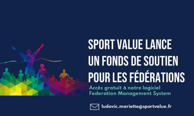 Sport Value lance un fonds de soutien pour les fédérations