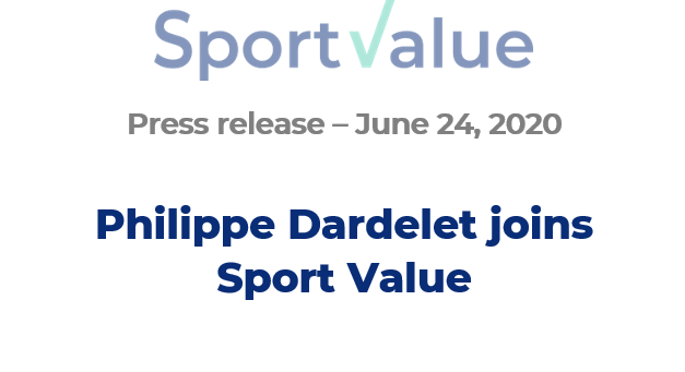 Philippe Dardelet joins Sport Value
