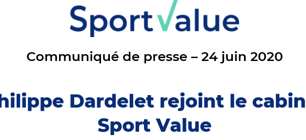 Philippe Dardelet rejoint Sport Value