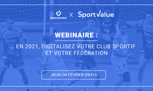 [Replay – Webinaire] Clubs et Fédérations : digitalisez votre structure